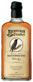 Journeyman Distillery Rye Whiskey Ravenswood 750ml